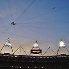 Dusk at the Stadium by Matthew Floyd