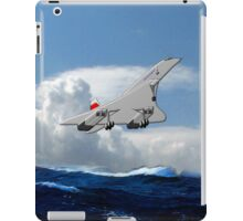 Concorde the Supersonic Airliner iPad case iPad Case/Skin