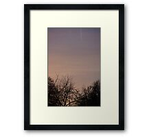 Forest Sky Framed Print