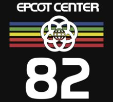 Epcot 82 Neon With White Letters by AngrySaint