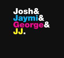 Josh & Jaymi & George & JJ (colour & white) Womens Fitted T-Shirt