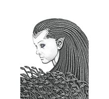Euryale - Gorgon with Garter Snakes for hair Photographic Print