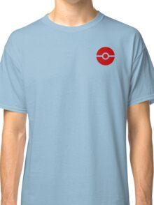 Subtle pokeball pokemon logo red - no words Classic T-Shirt