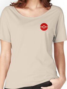 Subtle pokeball pokemon logo red - no words Women's Relaxed Fit T-Shirt