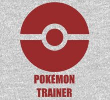 Subtle pokeball pokemon logo red - pokemon trainer Kids Clothes