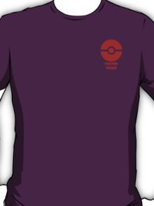Subtle pokeball pokemon logo red - pokemon trainer T-Shirt
