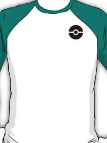 Subtle pokeball pokemon logo black - no words T-Shirt