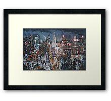 City Lights II Framed Print