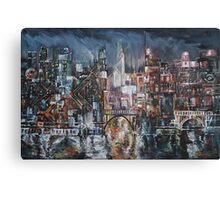 City Lights II Canvas Print