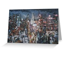 City Lights II Greeting Card