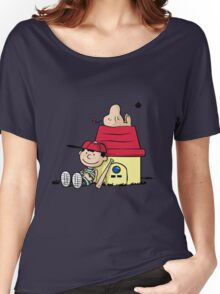 Earthbrown: A Boy and his Saturn 2.0 Women's Relaxed Fit T-Shirt