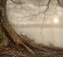 SUNSET LAKE by Rob  Toombs