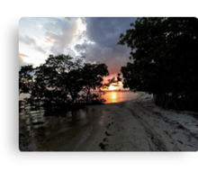 Farewell To The Day ~ Part Twenty-Five Canvas Print