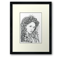 Dryad (Nature Spirit) Framed Print