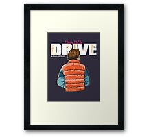 Back to the Future - Drive (Marty Mcfly) Framed Print