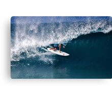 The Art Of Surfing In Hawaii 16 Canvas Print