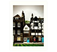 Queen's Guard at the Tower of London Art Print
