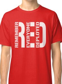RED - Red on Fridays Classic T-Shirt