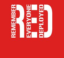 RED - Remember Everyone Deployed T-Shirt