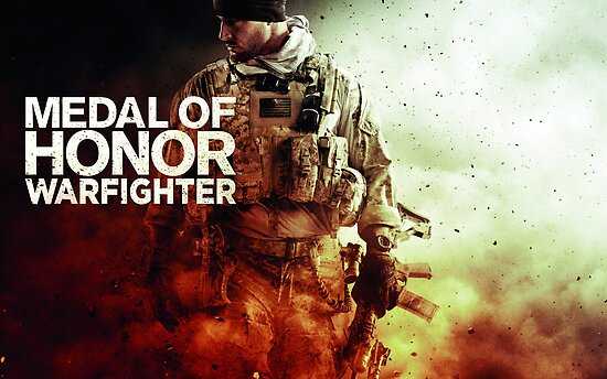 Medal of Honor Warfighter Poster by halljl