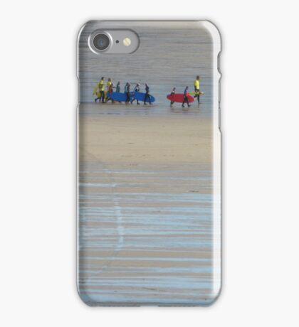 Going surfing, Cornwall iPhone Case/Skin
