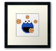 Cookie Monster Framed Print