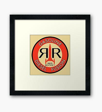 RedRocket Framed Print
