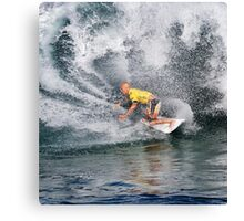 The Art Of Surfing In Hawaii 17 Canvas Print