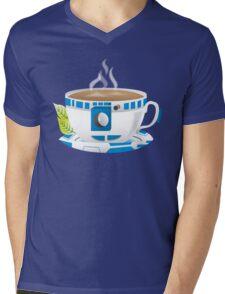 R2-TEA2 Mens V-Neck T-Shirt
