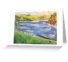 SC Lake Joecassee Greeting Card