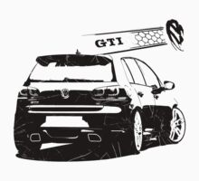 vw golf, golf gti Kids Tee