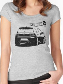 vw golf, golf gti Women's Fitted Scoop T-Shirt