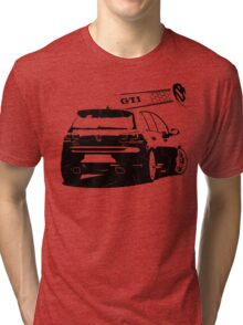 vw golf, golf gti Tri-blend T-Shirt