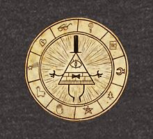 Bill Cipher Circle - Grafity Falls Unisex T-Shirt