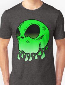 Alien Skull Design With Acid T-Shirt