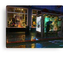 Bus Stop on Chestnut Street Canvas Print