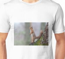 Inquisative Red squirrel Unisex T-Shirt