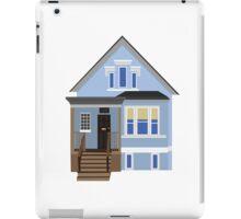 Blue House iPad Case/Skin