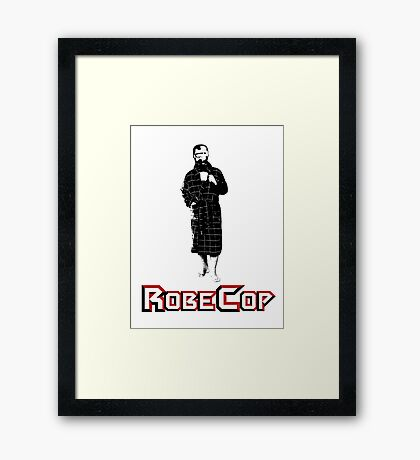 RobeCop Framed Print