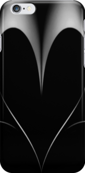 THE HEART OF SHADOWS - Iphone Case by Rob  Toombs