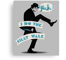 Silly walk Canvas Print