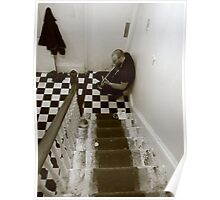Stairwell Blues Poster