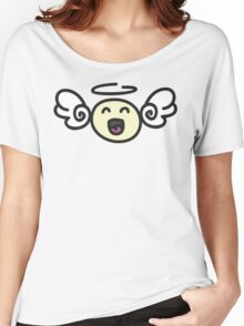 Doodle Angel Women's Relaxed Fit T-Shirt