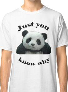 Panda Cheese Classic T-Shirt