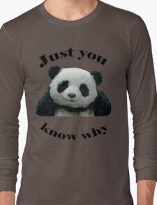 Panda Cheese Long Sleeve T-Shirt