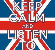 """Keep Calm and Listen To Coldplay"" by FabFari"