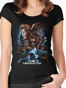The Terminator Women's Fitted Scoop T-Shirt