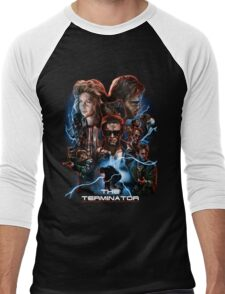 The Terminator Men's Baseball ¾ T-Shirt