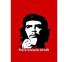 Viva la revolucion del cafe! Photographic Print