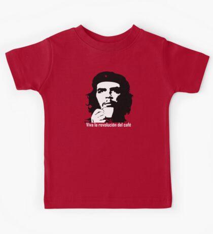 Viva la revolucion del cafe! Kids Tee